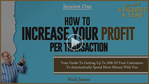Bonus Video 1: How To Increase Your Profit Per Transaction