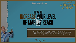 Bonus Video4: How To Increate Your Level Of Market Reach